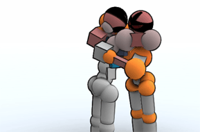 hugging screenshot